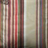 Il filato tessuto jacquard 100% del cotone ha tinto il tessuto per le camice/vestito Rls21-6ja