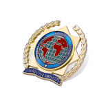 Emblema feito sob encomenda da bobina do metal, emblema militar (GZHY-KA-017)