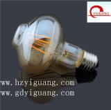새로운 디자인 모양 금 LED 필라멘트 전구