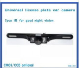 Imperméable IR Night Vision License Plate Rearview Car Camera