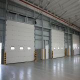 Porta secional da garagem da isolação, porta de aço automática da garagem da segurança (HF-0144)