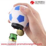 Консервооткрыватель бутылки пива вставки изготовленный на заказ новизны футбола пластичный