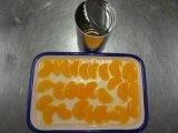 Segmento inteiro tanjerina enlatada