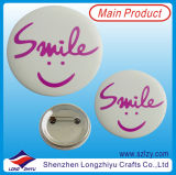 ابتسام وجه يشبك زرّ صفيحة مقصدرة شامة مع عالة تصميم يتوفّر