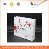 Qualitäts-Verpackungs-Papier-Kleid-Beutel mit Baumwollgriff