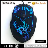 Tipo de interface USB e 6D Ergonomic Wired Gaming Mouse