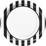Placas de cena baratas del papel del precio