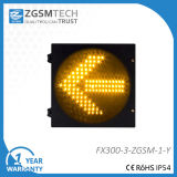 300mm Signale des 12 Zoll-Verkehrs-hellgelbe Pfeil-LED