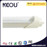 Cover transparente el 1.2m 18W LED T8 Tube