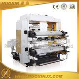 Zwei Farben-kleine flexographische Drucken-Maschine
