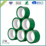 Fita adesiva verde de cor BOPP para a embalagem da caixa