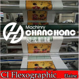 중앙 Drum 8 Colors Rotary Flexo Printing Machine (Changhong 상표)