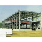 Casa/almacén hermosos y económicos del envase de la construcción del bajo costo