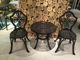 Jogos da mobília do jardim do alumínio de molde
