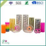 3.4mmのプラスチックコア付着力の極度の明確な学校の文房具BOPPテープ