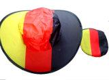 Deutsche Markierungsfahnen-Auslegung-faltbarer Hut