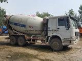 Verwendeter HOWO Durchfahrt-Mischer-LKW