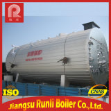 caldeira de vapor Gas-Fired da água 9t quente para industrial