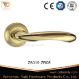 Zamak Interior Door Hardware Latch Handles mit Round Rose