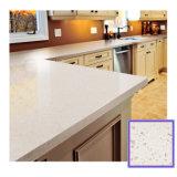 Pietra bianca/beige/cachi del quarzo per vanità del controsoffitto/stanza da bagno della cucina