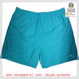 Algodón de los hombres del verano/cortocircuitos hechos punto Spandex de la ropa de deportes