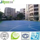 Pavimento comodo del campo da pallacanestro con il certificato del CE