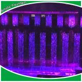 Fonte de água ao ar livre/cortina de água econômica