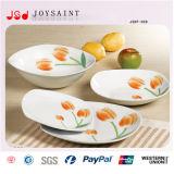 De Nieuwe Plaat van uitstekende kwaliteit van het Diner van het Porselein 20PCS van het Diner van China van het Been Vastgestelde