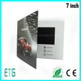 2016 Hot Sale Video Card - LCD Greenting Brochure