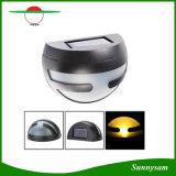 Garten-Zaun-Wand-Lampen-Wand-Licht der halber Mond-im Freien Beleuchtung-Produkt-Sonnenenergie-LED