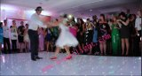 Blanco portable LED Dance Floor en la boda, partido, festival