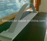 Los paneles de apartadero del cemento de la fibra