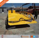 rampas móveis da jarda 10ton para rampas móveis da doca do carregamento e de descarregamento do recipiente para o caminhão