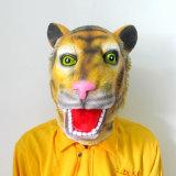 Máscara da cabeça do animal de partido, máscara da cabeça de cavalo do látex, máscara engraçada de Halloween