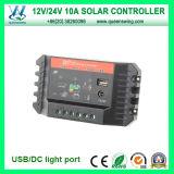 reguladores solares del cargador del regulador elegante de 10A 12/24V (QWP-SC1024U)