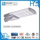 240W 5 anni della garanzia del commercio all'ingrosso di alta qualità del Ce di RoHS LED di indicatore luminoso di via