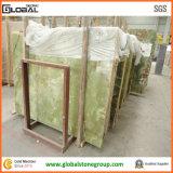 Mattonelle verdi del marmo di Onyx di vendite calde per ospitalità