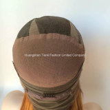 perruques de face 1b/#27 de lacet humain du cheveu 26inch 150%-180% droit