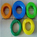 高品質の押出機機械PVC繊維強化ホースの生産ライン