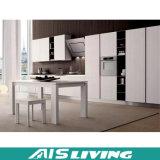 Mobília dos gabinetes de cozinha do bloco liso (AIS-K260)