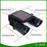 Sensor de movimento do sensor de luz solar LED ajustável Luz de segurança de parede retacionada para calçadas