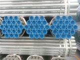 Tubo galvanizado alta calidad del hierro con los casquillos plásticos