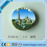 Polyresin Fridge Souvenir 3D Relief Resin Magnet (HG-010)