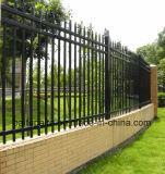 Da cerca ao ar livre de alumínio do metal da cerca da cerca do jardim da cerca da boa qualidade cerca durável do metal