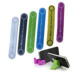 Soporte magnético de múltiples funciones de Smartphone de la atadura de cables de la venda del silicón