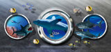 kundenspezifisches Wandpapier-Vinylselbstklebender Aufkleber des Größendruckens 3D