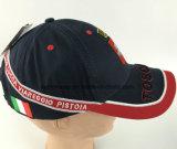 선전용 구성된 자수에 의하여 괴롭혀지는 야구 모자