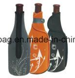 O vinho relativo à promoção durável /Beer/Bottle do neopreno da impressão do teste padrão enlata o refrigerador