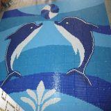 El azulejo de mosaico de cerámica más barato 2015 para la piscina/la pared/el cuarto de baño etc.