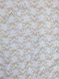 Wedding Gown를 위한 Raschel Woven White Eyelash Lace Fabric